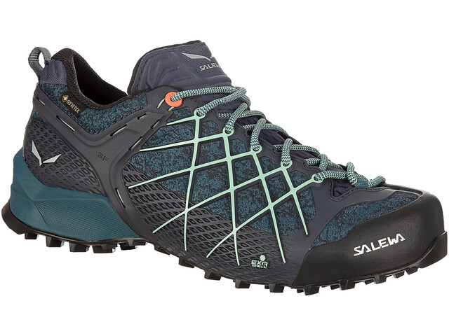 SALEWA Wildfire GTX Scarpe Donna, ombre blue/atlantic deep
